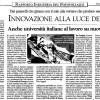 Italia Oggi - 09/04/2009